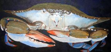 Keith Wilke, BlueCrab, Acrylic
