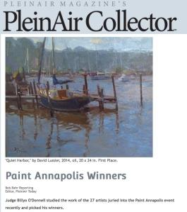 PleinAir Collector Article