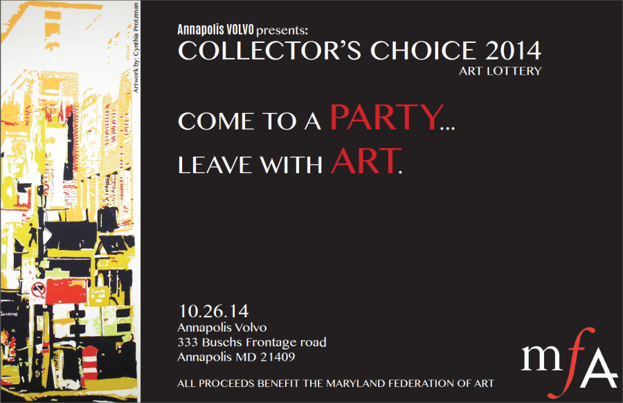 Collector's Choice Invitation Screen Shot