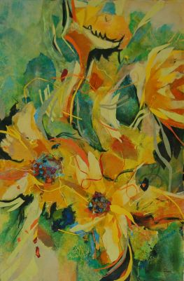 Floral Fandango by Janna Zuber