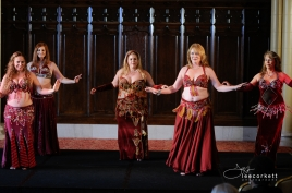A dance performance at the 2014 Maryland Bellydance Conference in Baltimore