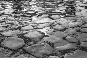 Appian Way Cobbles by Warren Kornberg
