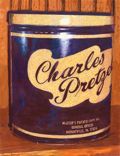 """""""CharlesPretzels"""" by Mary Ellen Geissenhainer"""