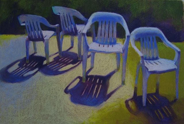 """Gathering"" by Gail Higginbotham"