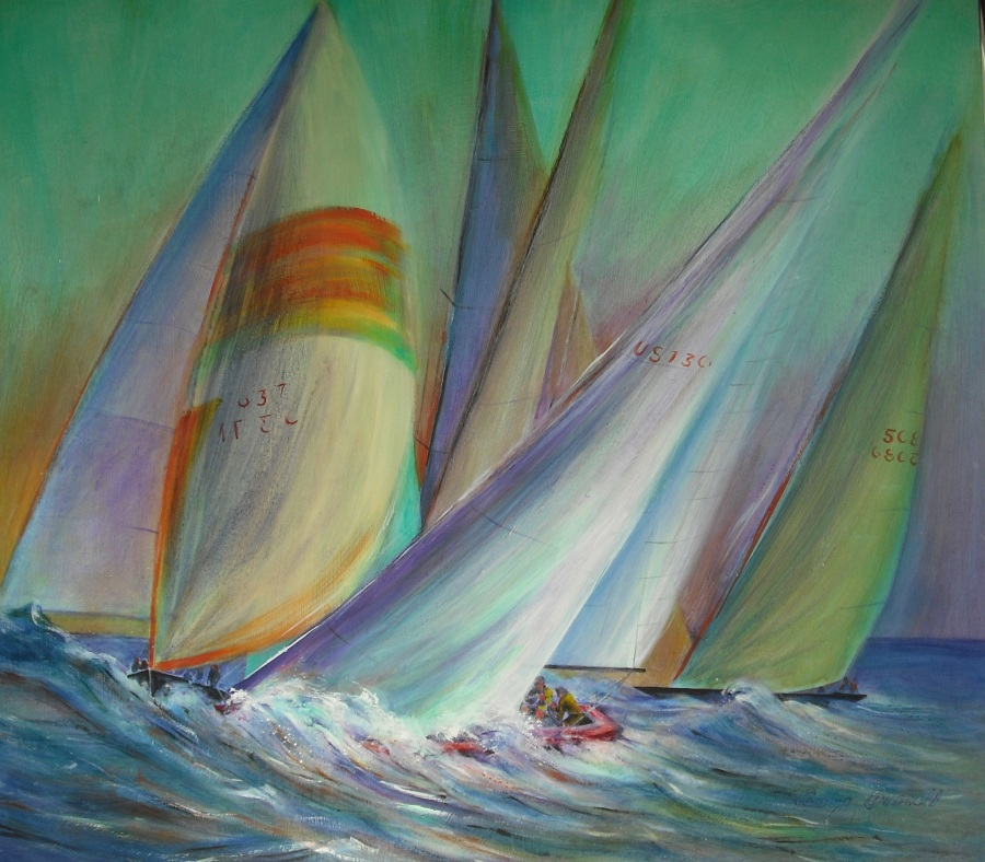 """Regatta"" by Carolyn Councell"