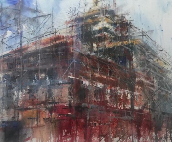 """Restoration"" watercolor Ken Karlic.jpg"