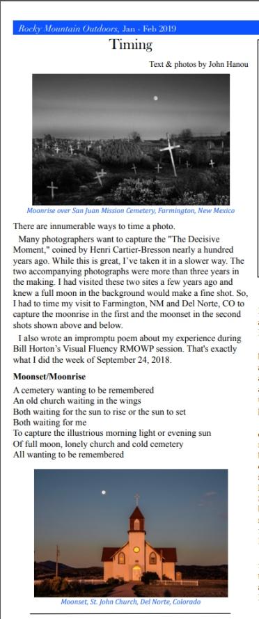 John Hanou RMWOP Newsletter  Article.jpg