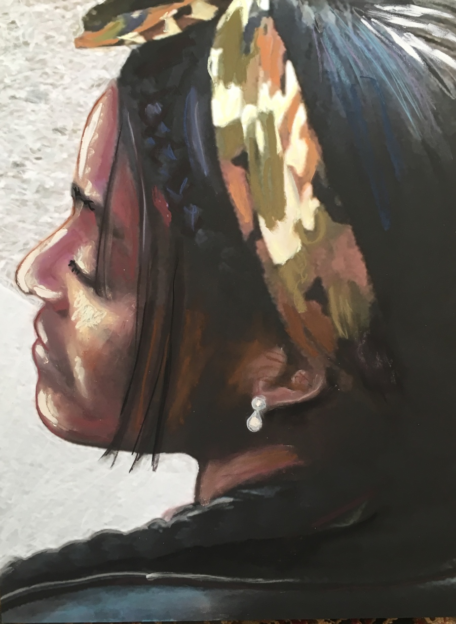 21st C. Girl wPearl-RRacanello-