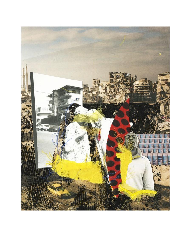 Nene Aissatou Diallo, Not made at home, collage